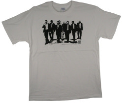 Image Closeup for Reservoir Dogs Walking T-Shirt