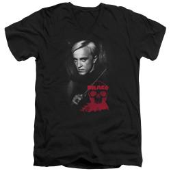 Image for Harry Potter V Neck T-Shirt - Draco Portrait