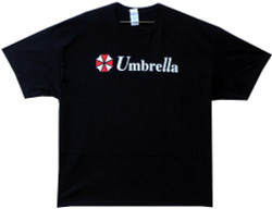Image Closeup for Resident Evil T-Shirt - Umbrella Classic Logo