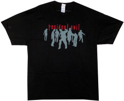 Image Closeup for Resident Evil T-Shirt - Zombie Silhouettes