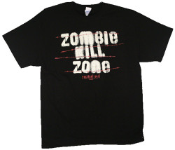 Image Closeup for Resident Evil T-Shirt - Zombie Kill Zone