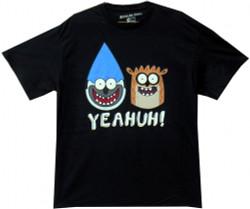 Image Closeup for The Regular Show Face Forward T-Shirt
