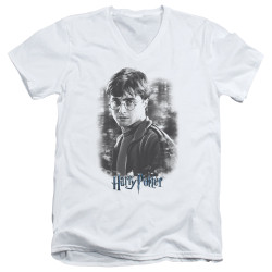 Image for Harry Potter V Neck T-Shirt - Harry in the Woods