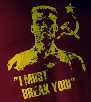 Image for Rocky T-Shirt - Drago I Must Break You