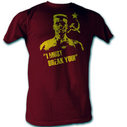 Rocky T-Shirt - Drago I Must Break You