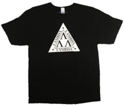 Image Closeup for Revenge of the Nerds Lambda Lambda Lambda T-Shirt