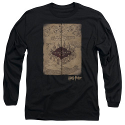 Image for Harry Potter Long Sleeve Shirt - Marauder's Map