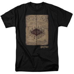 Image for Harry Potter T-Shirt - Marauder's Map