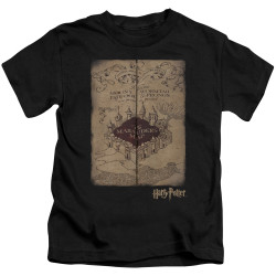Image for Harry Potter Marauder's Map Kid's T-Shirt