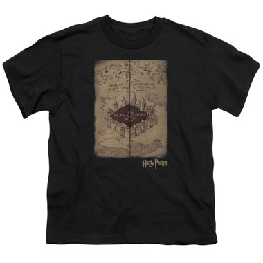 Image for Harry Potter Youth T-Shirt - Marauder's Map
