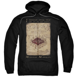 Image for Harry Potter Hoodie - Maruader's Map Words