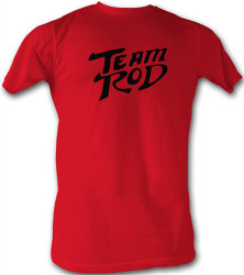 Image Closeup for Hot Rod Red Logo T-Shirt