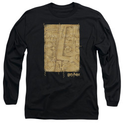 Image for Harry Potter Long Sleeve Shirt - Marauder's Map Interior