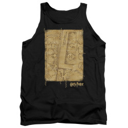Image for Harry Potter Tank Top - Marauder's Map Interior