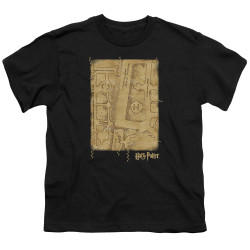 Image for Harry Potter Youth T-Shirt - Marauder's Map Interior