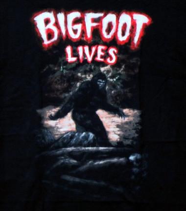 Image for Bigfoot Lives T-Shirt