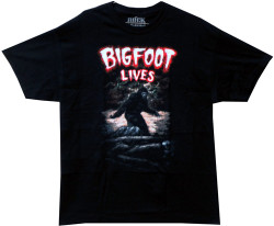 Image Closeup for Bigfoot Lives T-Shirt