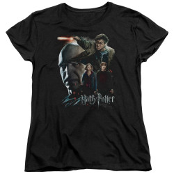 Image for Harry Potter Womans T-Shirt - Final Fight