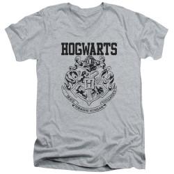 Image for Harry Potter V Neck T-Shirt - Hogwarts