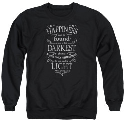 Image for Harry Potter Crewneck - Happiness Can Be Found