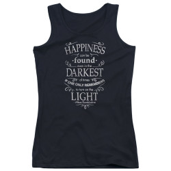 Image for Harry Potter Girls Tank Top - Happiness Can Be Found