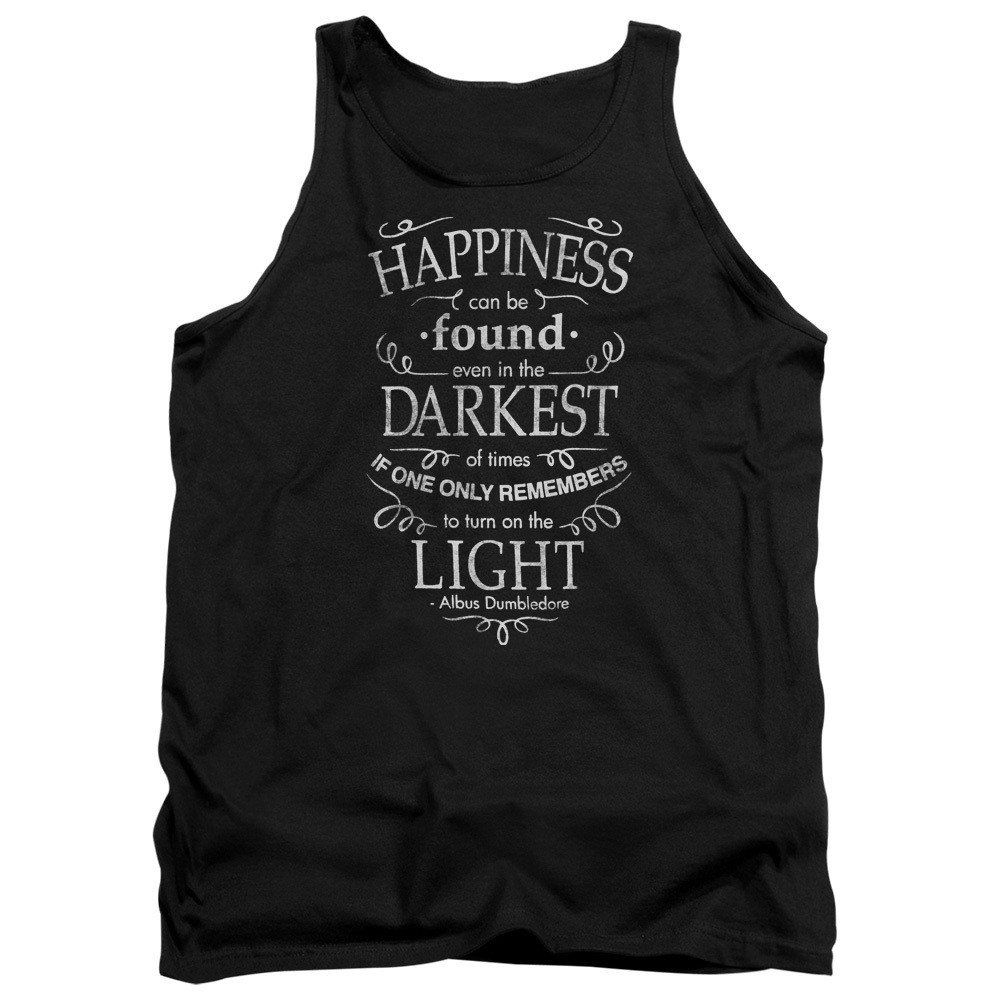 a168f886 Harry Potter Tank Top - Happiness Can Be Found - NerdKungFu