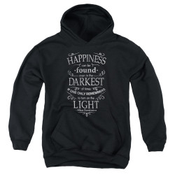 Image for Harry Potter Youth Hoodie - Happiness Can Be Found
