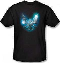 Image Closeup for Stargate Atlantis SGA Eagle Icon T-Shirt