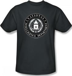 Image Closeup for Stargate SG1 NID Logo T-Shirt