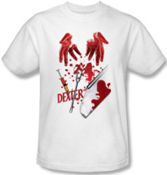 Image Closeup for Dexter Tools of the Trade T-Shirt