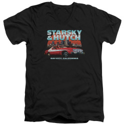 Image for Starsky & Hutch V Neck T-Shirt - Bay City