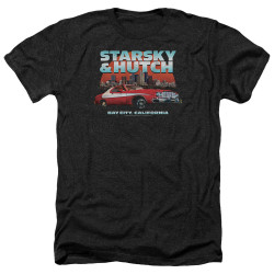 Image for Starsky & Hutch Heather T-Shirt - Bay City