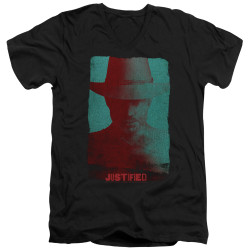 Image for Justified V Neck T-Shirt - Silhouette
