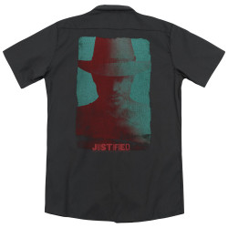 Image for Justified Dickies Work Shirt - Silhouette