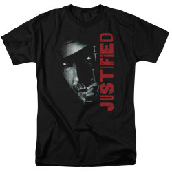 Image for Justified T-Shirt - Gun