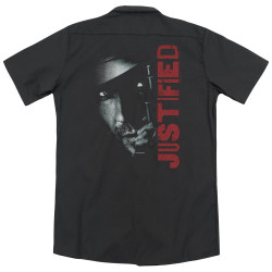 Image for Justified Dickies Work Shirt - Gun