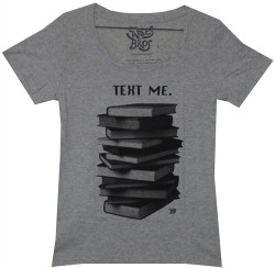 Ames Bros Text Me Girls T-Shirt Image 2
