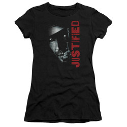 Image for Justified Girls T-Shirt - Gun