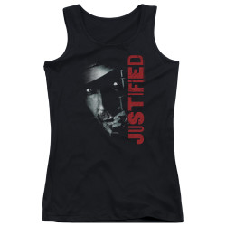 Image for Justified Girls Tank Top - Gun