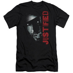 Image for Justified Premium Canvas Premium Shirt - Gun