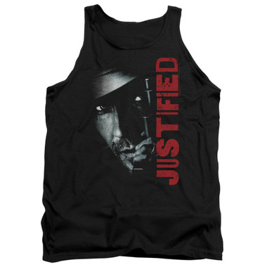 Image for Justified Tank Top - Gun