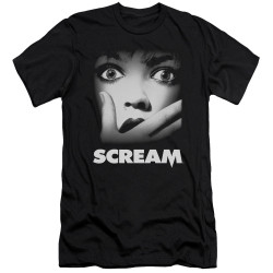 Image for Scream Premium Canvas Premium Shirt - Poster