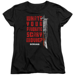 Image for Scream Womans T-Shirt - Favorite