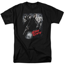 Image for Sin City T-Shirt - Poster