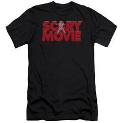 Image for Scary Movie Premium Canvas Premium Shirt - Logo