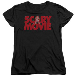 Image for Scary Movie Womans T-Shirt - Logo