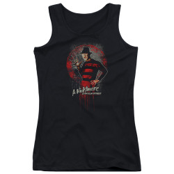 Image for A Nightmare on Elm Street Girls Tank Top - Hello