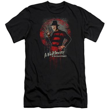 image for  A Nightmare on Elm Street Premium Canvas Premium Shirt - Hello
