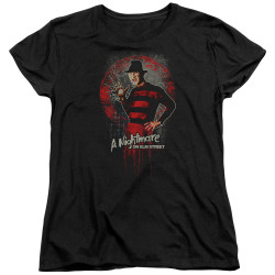 Image for A Nightmare on Elm Street Womans T-Shirt - Hello