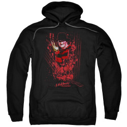 Image for A Nightmare on Elm Street Hoodie - One Two Freddy's Coming For You